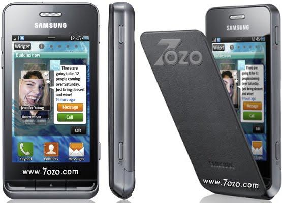 Samsung S7230E Wave 723 سعر ومواصفات